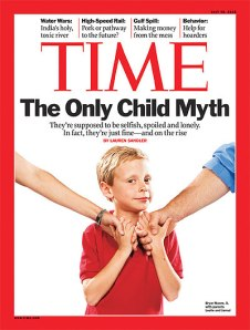 Only child TIME cover