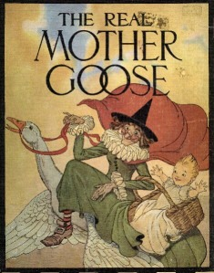 The Real Mother Goose book cover