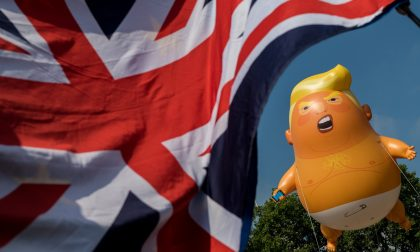 Trump baby balloon