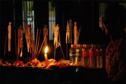 Cambodia Pchum Ben Ritual