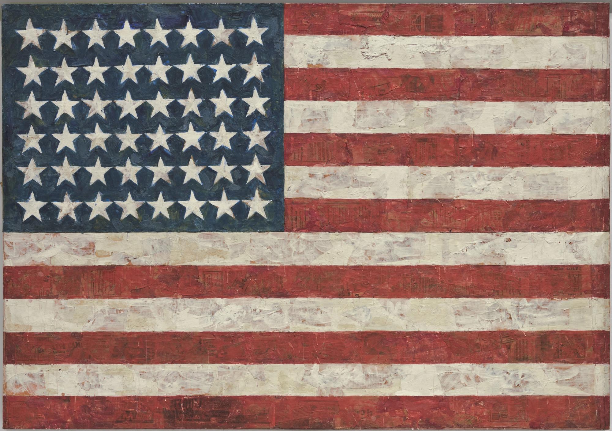 USA flag_Jasper Johns.jpg