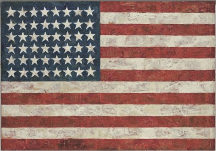 USA flag_Jasper Johns.jpg